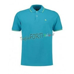 T-SHIRT GIROCOLLO MAXFORT ULTIMI PEZZI SOLO BLUE Tg 3XL -50%