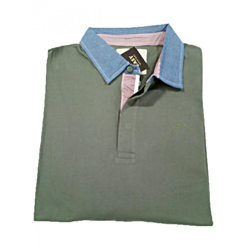 Tempo libero Camicia Uomo Manica Lunga Di Kitaro 100/% cotone in oversize 3xl 8xl